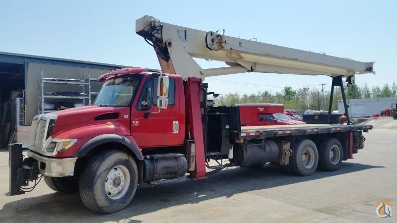 Sold 2004 TEREX BT4792 Crane for  in Laval Qubec on CraneNetwork.com