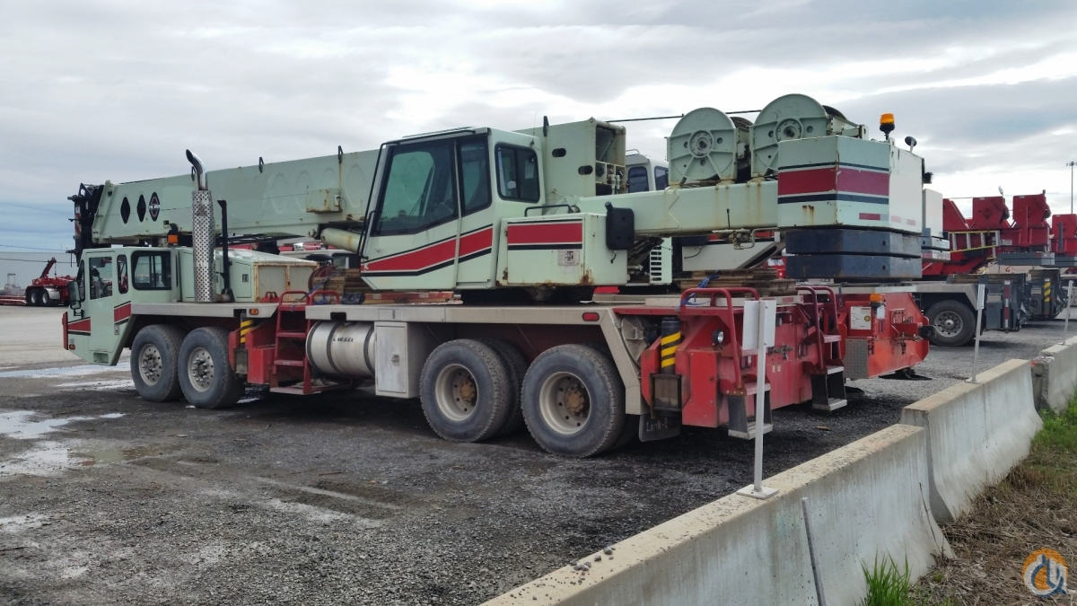 Sold 2000 Link-Belt  Model HTC8660 Crane for  in Laval Qubec on CraneNetwork.com