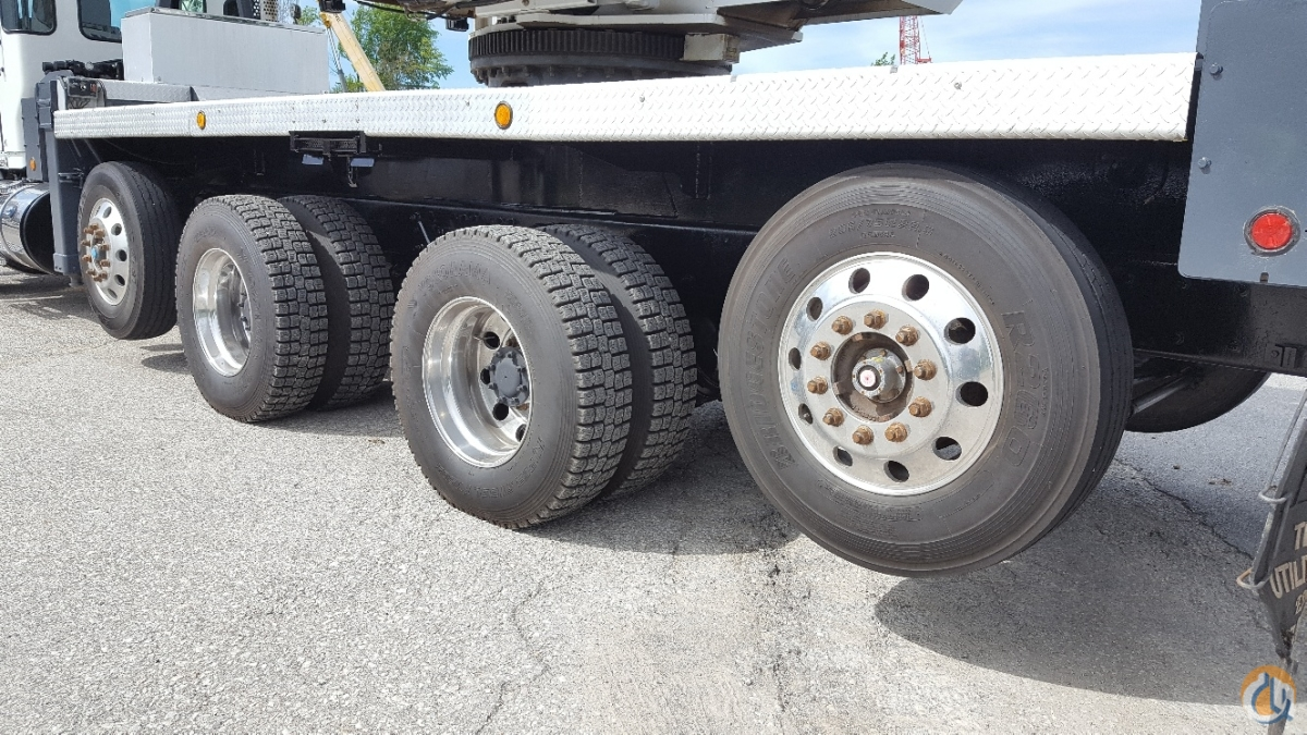 2012 Manitex 50110S mounted on Kenworth T800 Crane for Sale in Solon Ohio on CraneNetworkcom