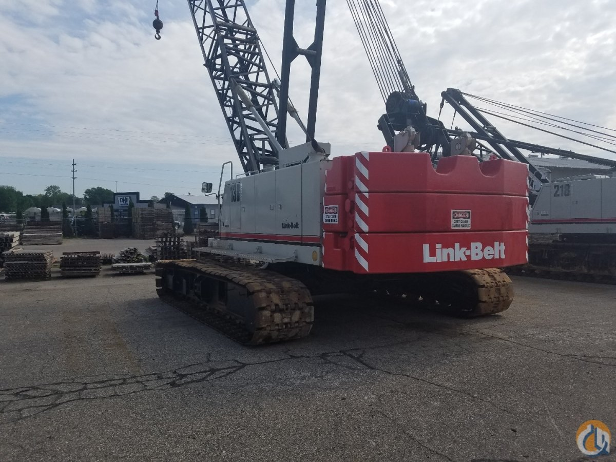 2008 Link-Belt 138HSL Crane for Sale or Rent in Hudsonville Michigan on CraneNetwork.com