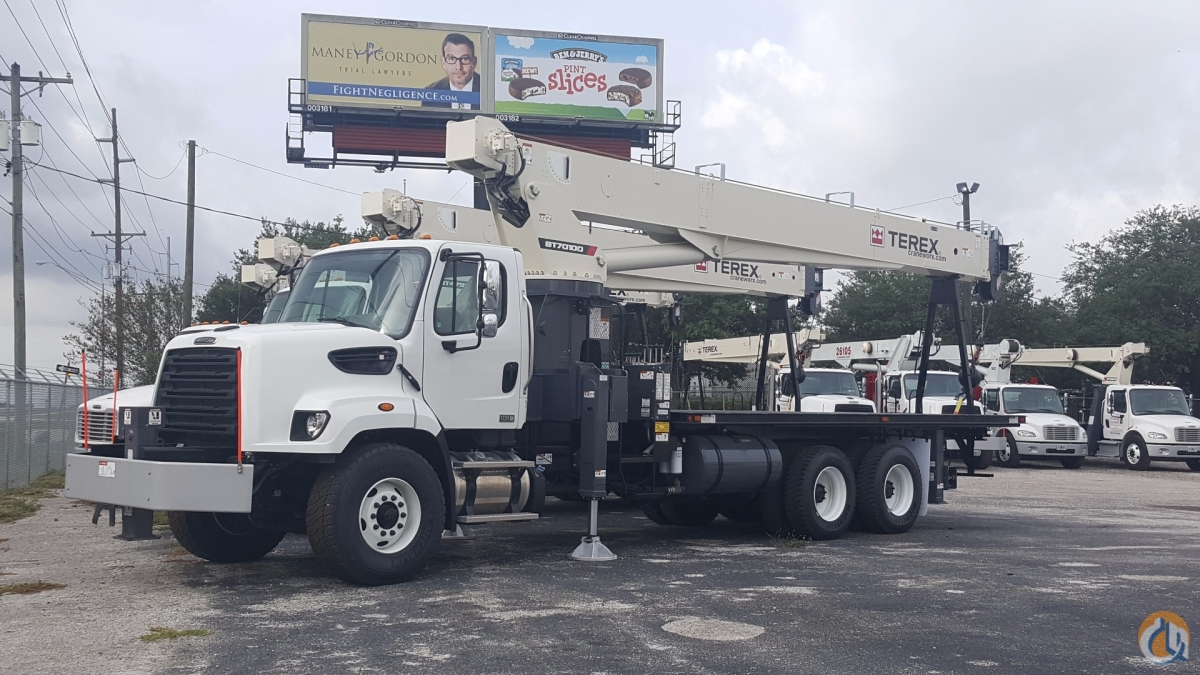New Terex BT70100 on a new Freightliner 108SD Crane for Sale in Tampa Florida on CraneNetwork.com