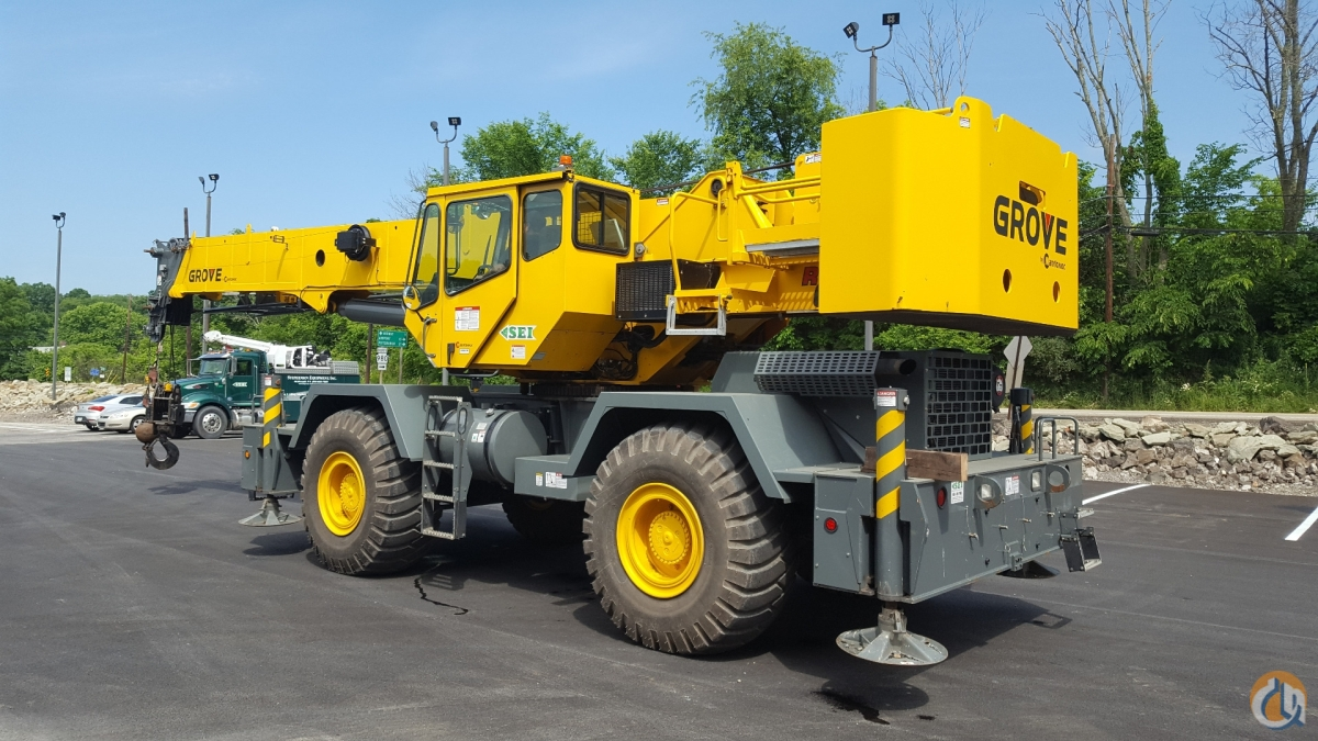 2013 Grove RT650E Crane for Sale or Rent in Pittsburgh Pennsylvania on CraneNetworkcom