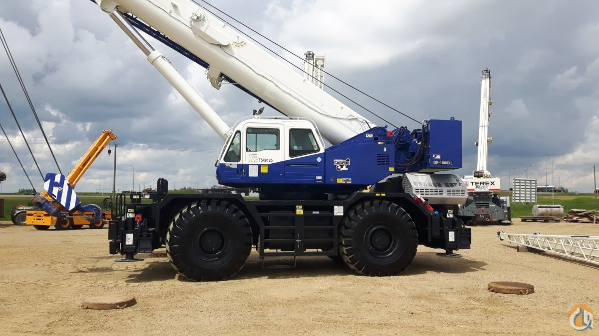 2019 TADANO GR1000XL-3 Crane for Sale or Rent in Nisku Alberta on CraneNetwork.com