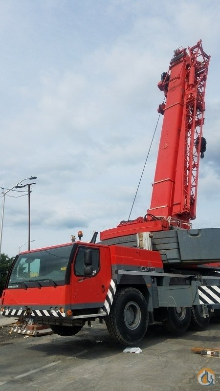 2006 LIEBHERR LTM 1200-5.1 Crane for Sale in New York New York on CraneNetwork.com
