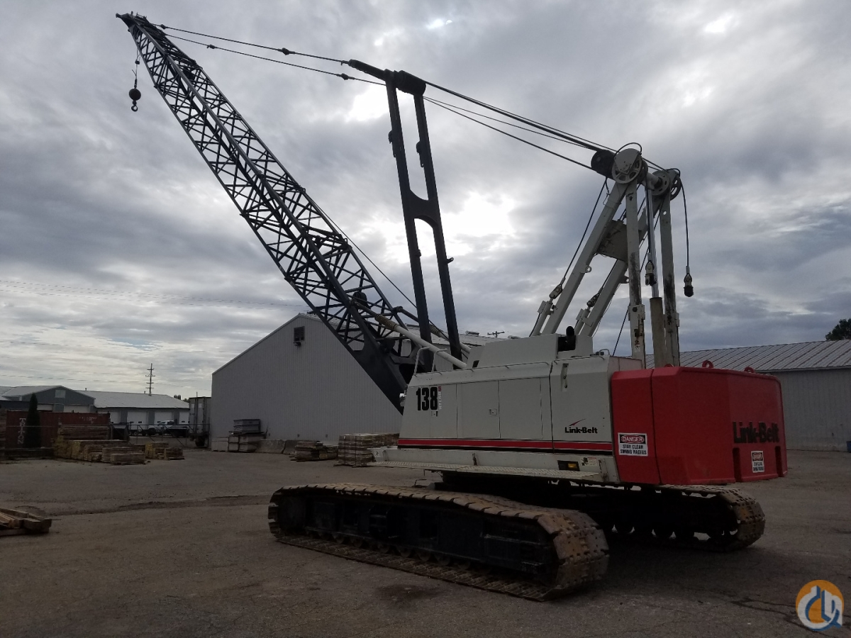 2005 Link-Belt Hylab 5 Crane for Sale or Rent in Hudsonville Michigan on CraneNetwork.com