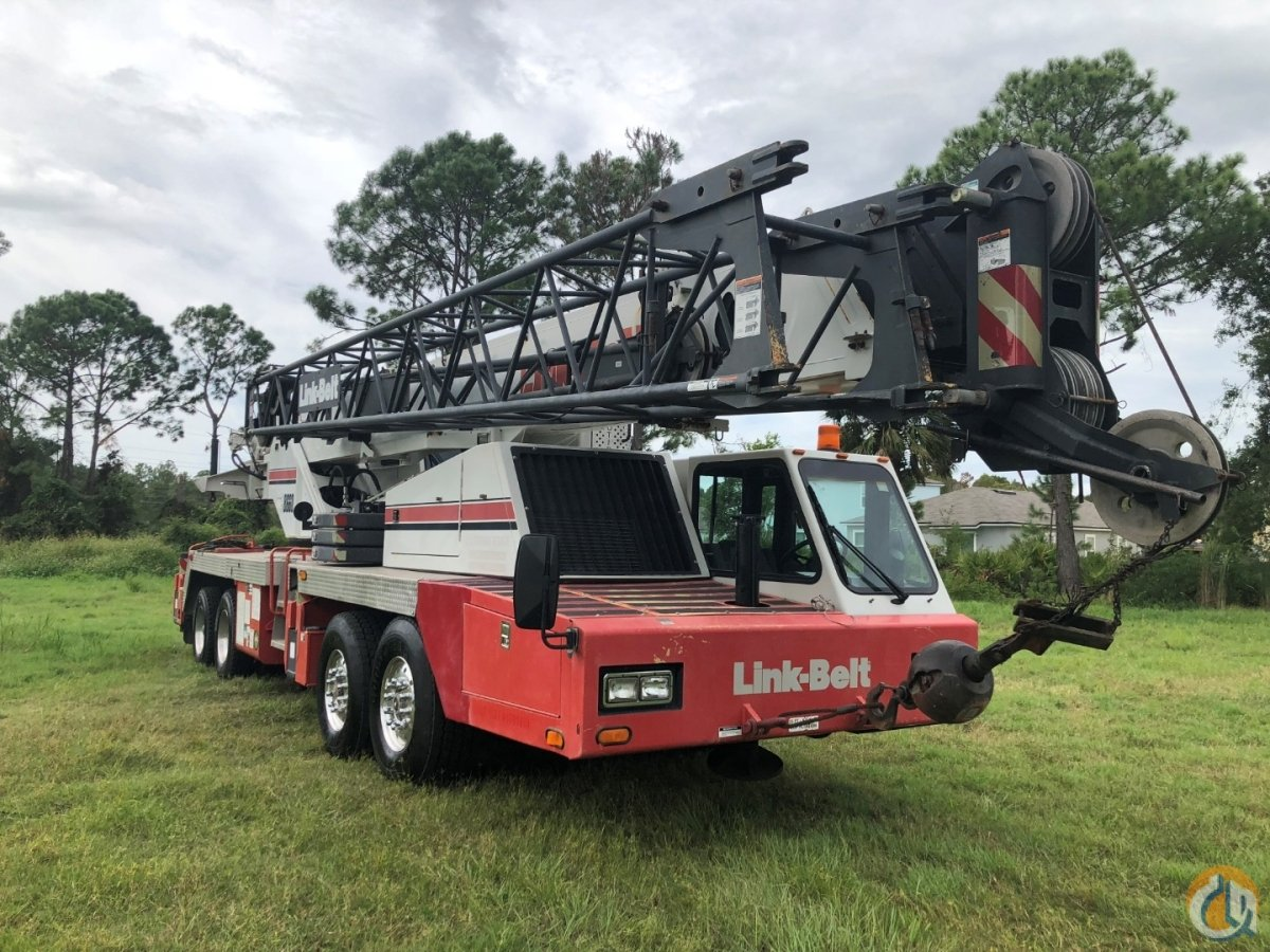 Sold 2008 Link Belt HTC8660II Crane for  in St. Augustine Florida on CraneNetwork.com