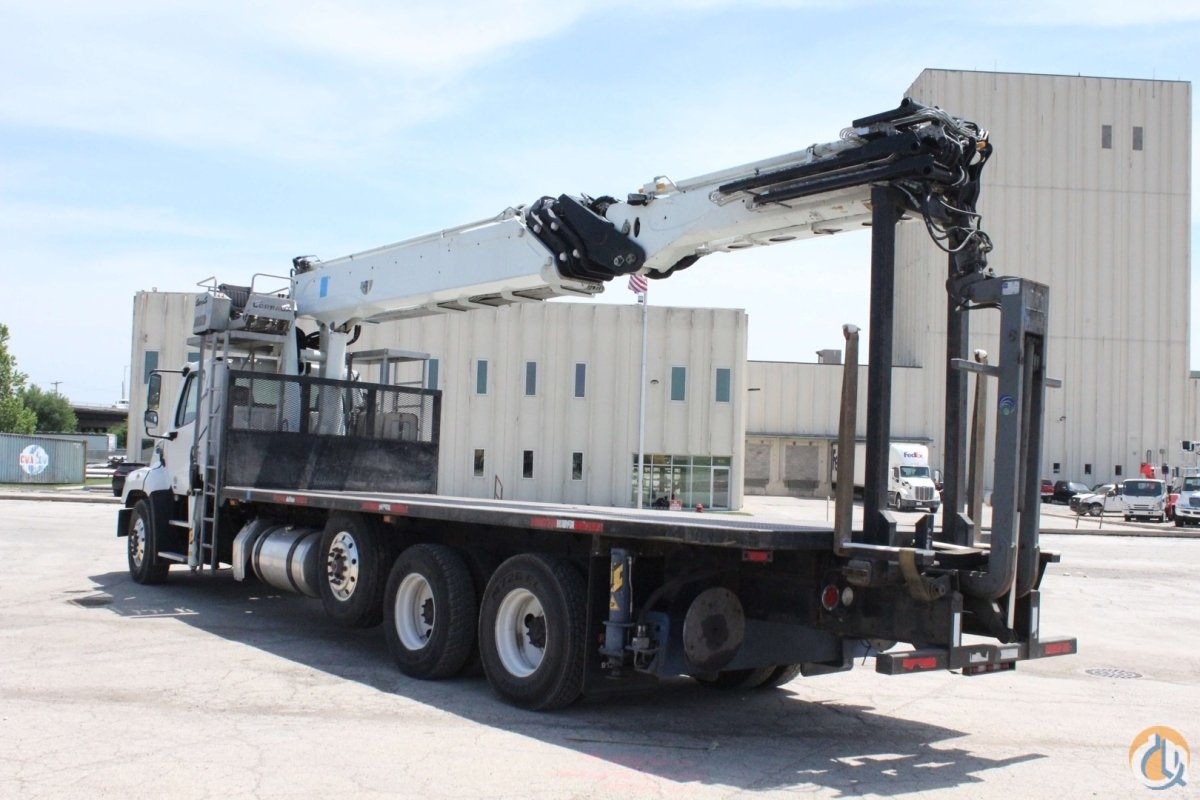 Used Cormach 50000 WB95 wallboard crane installed on 2015 Freightliner 114SD chassis Crane for Sale in Hampton New Jersey on CraneNetwork.com