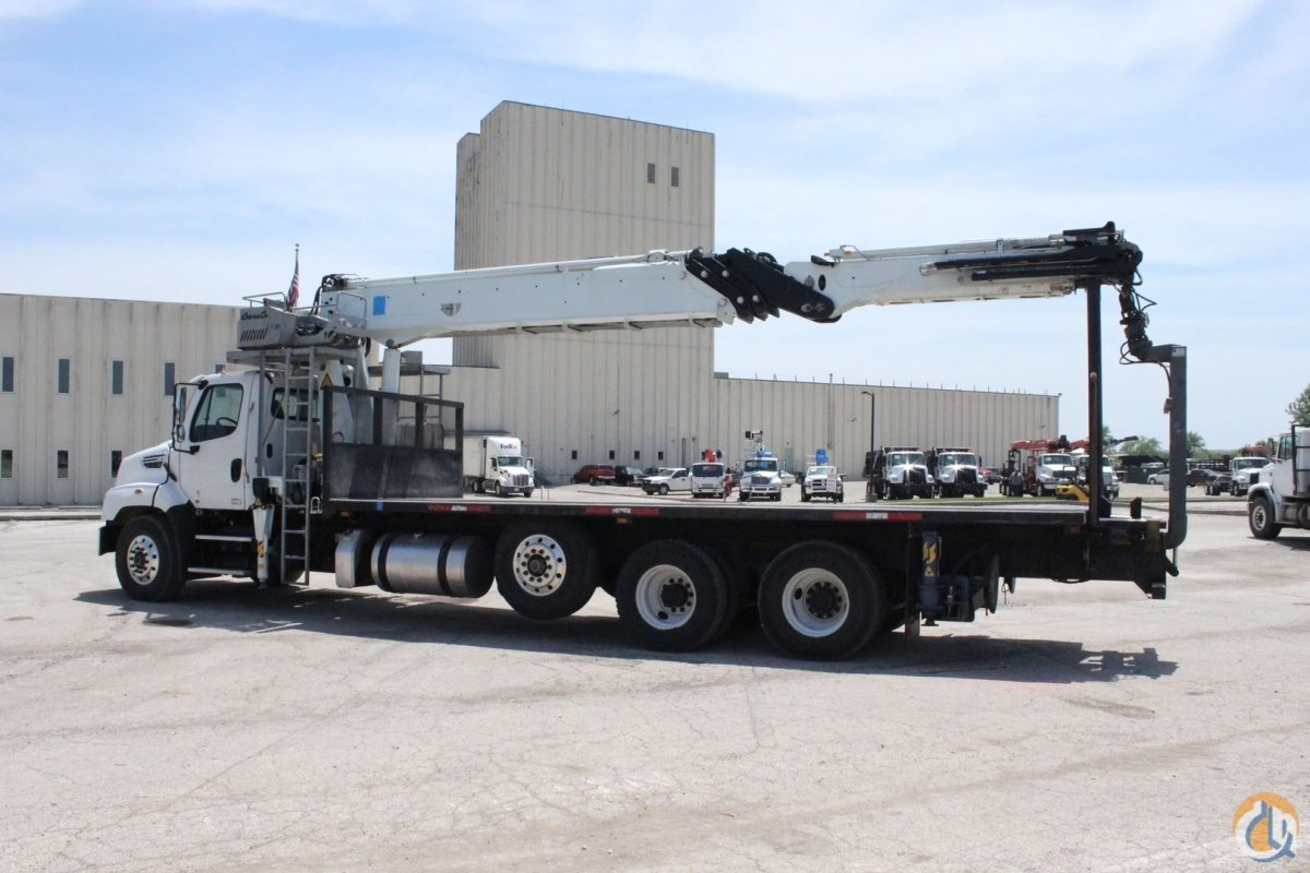 Used Cormach 50000 WB95 wallboard crane installed on 2015 Freightliner 114SD chassis Crane for Sale in Olathe Kansas on CraneNetwork.com