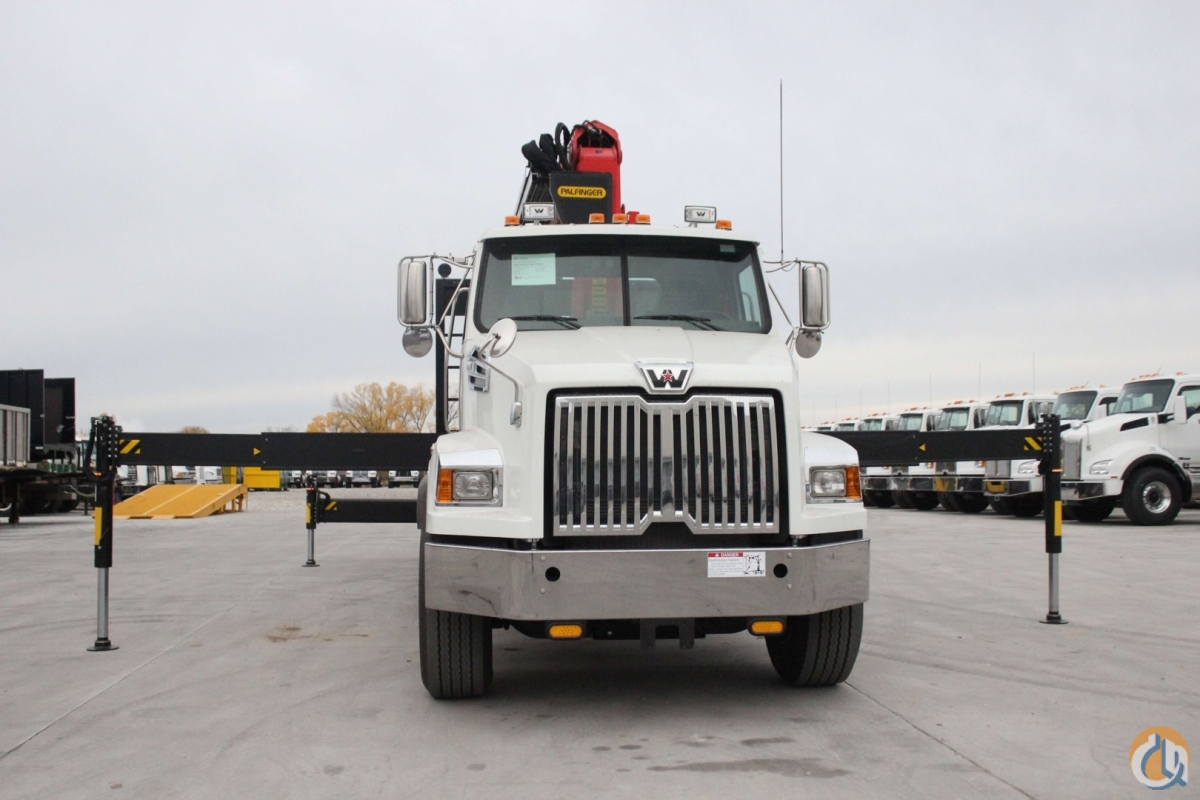 New Palfinger PW50001-SH crane installed on 2018 Western Star 4700SB chassis Crane for Sale in Olathe Kansas on CraneNetwork.com