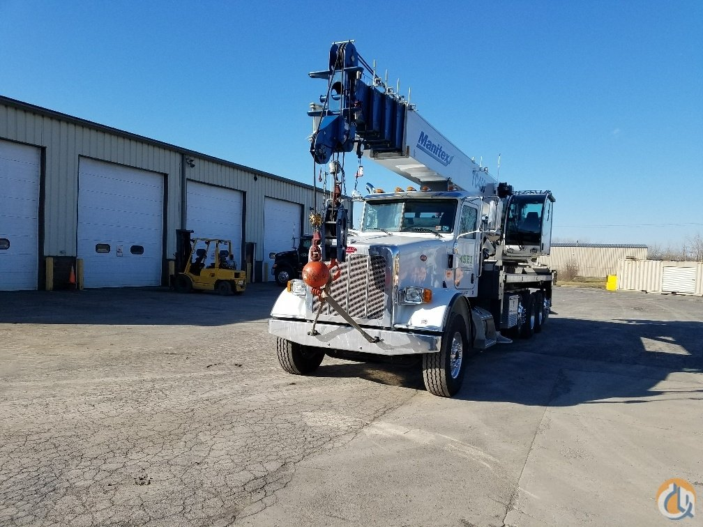 2016 Manitex TC450 Mounted on Peterbilt 367 Crane for Sale in Waterford New York on CraneNetwork.com