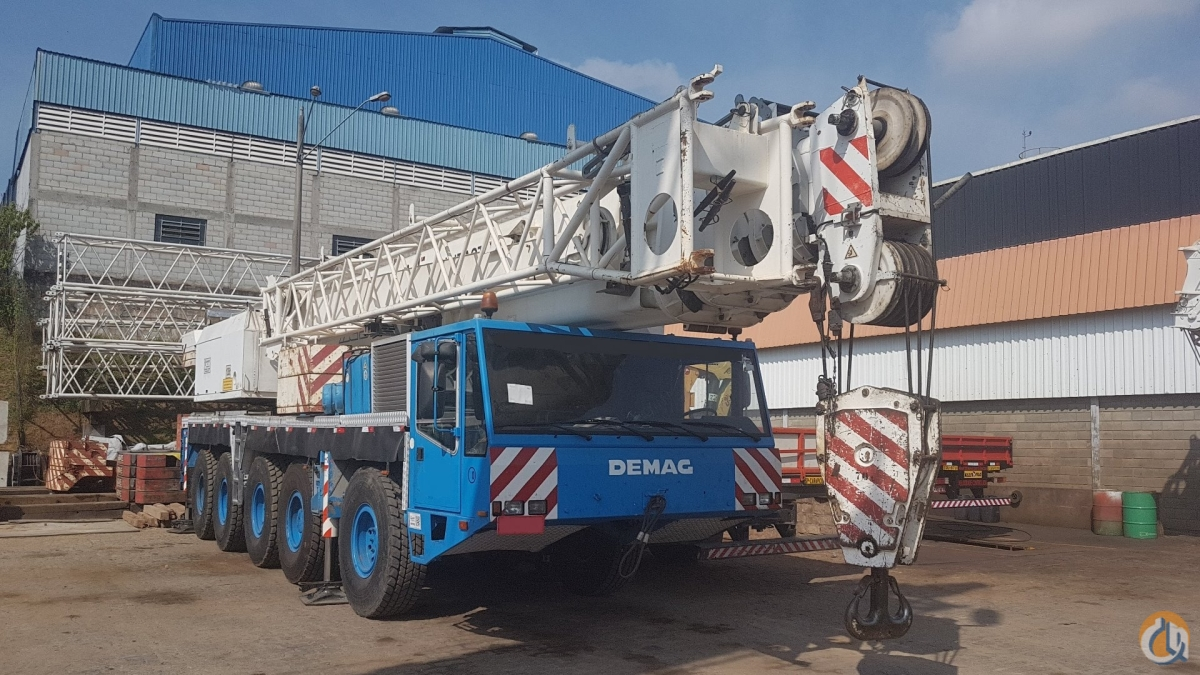 DEMAG AC 395 Crane for Sale on CraneNetwork.com
