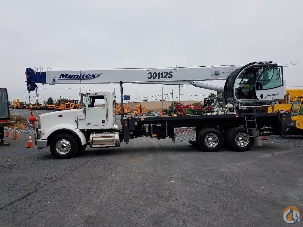 2018 Manitex 30112S Crane for Sale or Rent in Harrisburg Pennsylvania on CraneNetwork.com