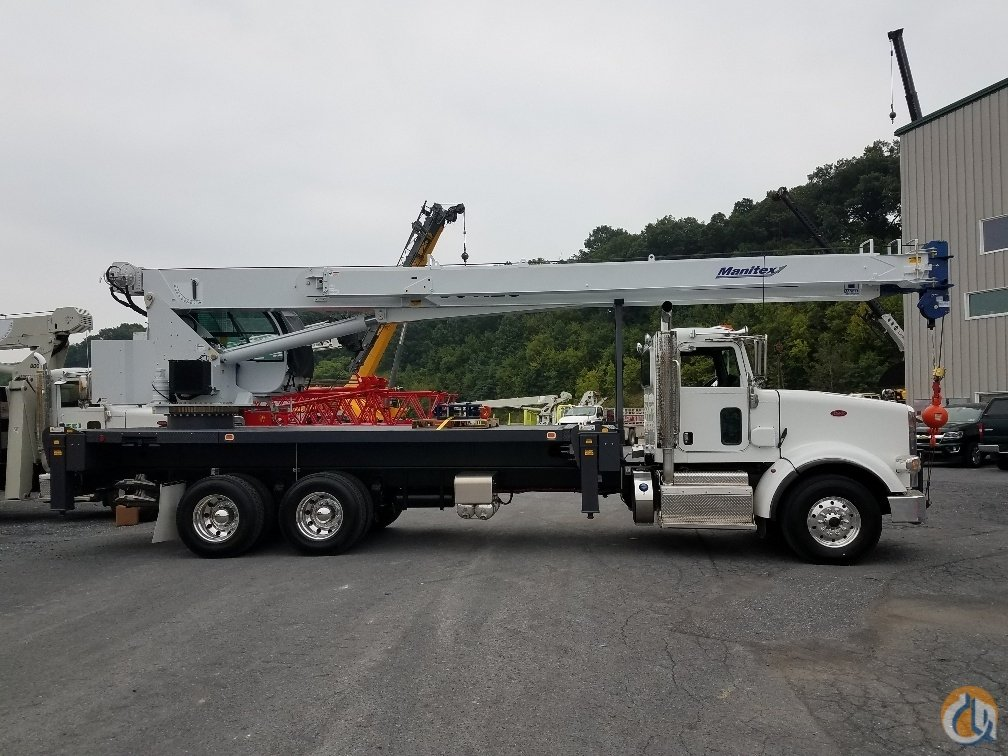 2018 Manitex 30112S Crane for Sale or Rent in Pittston Pennsylvania on CraneNetwork.com