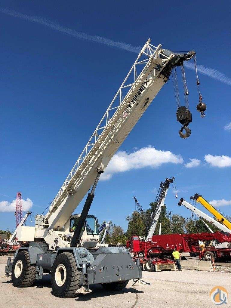 2008 Terex RT555 Crane for Sale in Solon Ohio on CraneNetwork.com