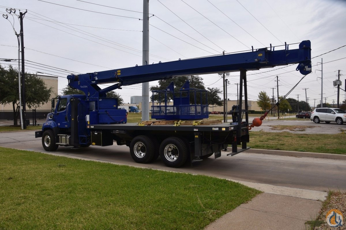 2017 MANITEX 30100C 30 TON BOOM TRUCK FACTORY WARRANTY MAN BASKET LESS THAN 2000 MILES  200 HOURS CERTIFIED Crane for Sale in Dallas Texas on CraneNetwork.com