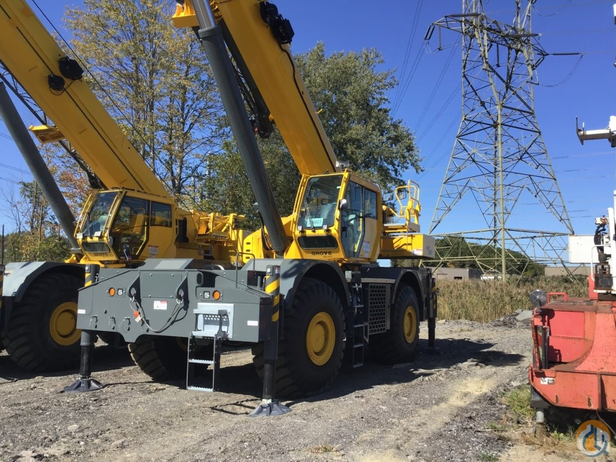 2019 GROVE GRT880 Crane for Sale or Rent in Cleveland Ohio on CraneNetwork.com