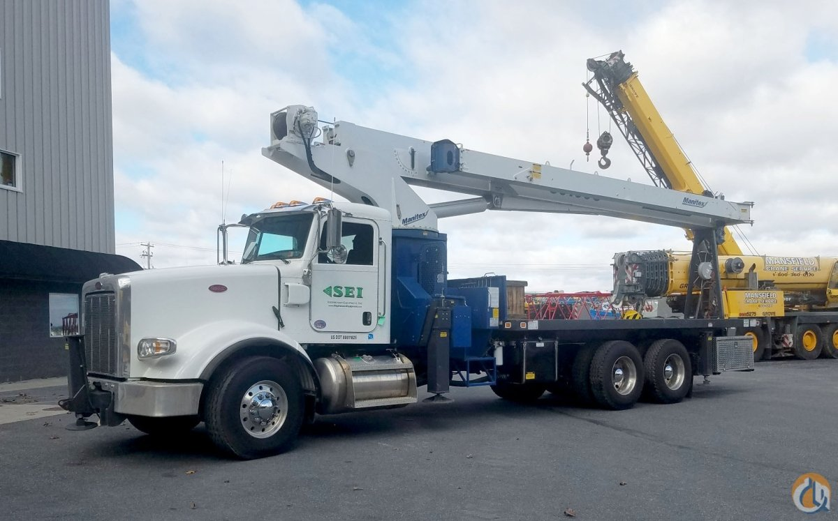 2017 Manitex 30100C Crane for Sale or Rent in Harrisburg Pennsylvania on CraneNetwork.com