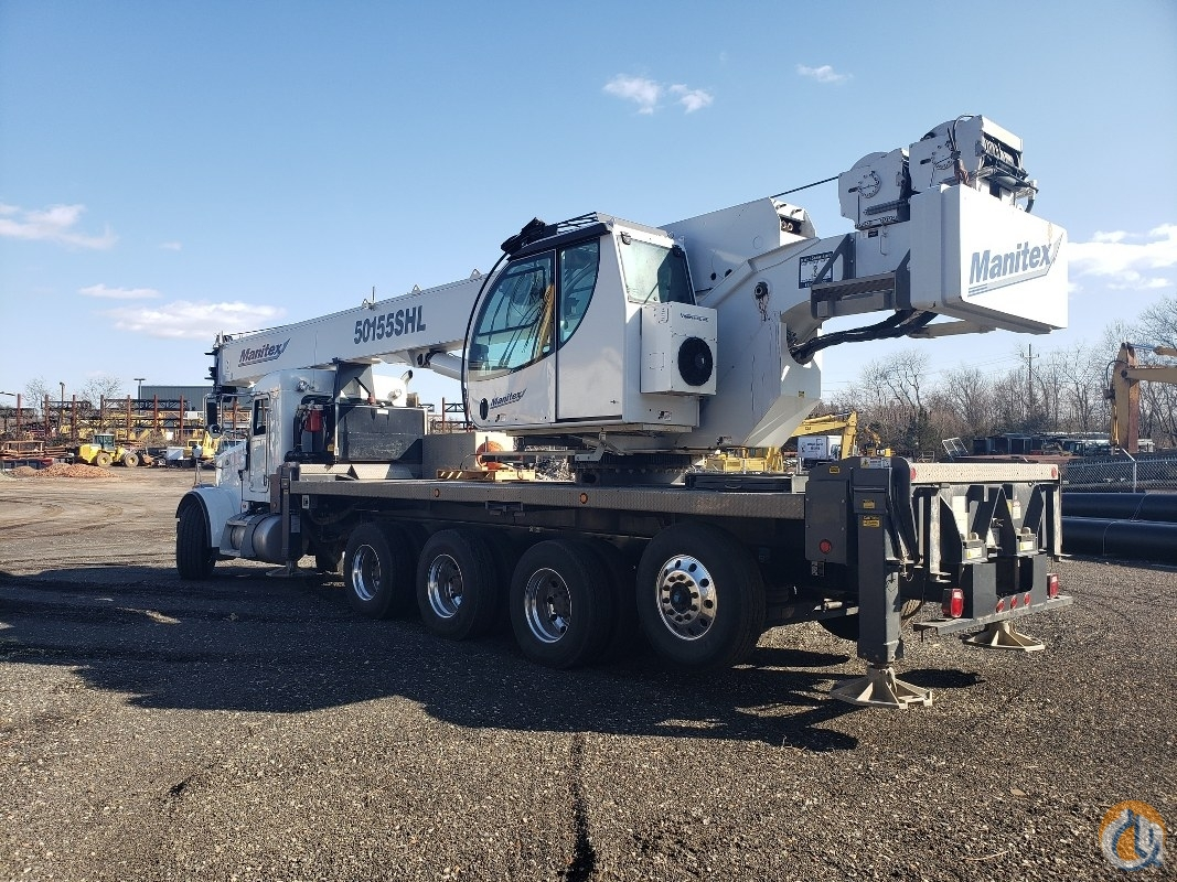 Sold 2015 Manitex 50155SHL Crane for  in Branchburg New Jersey on CraneNetwork.com