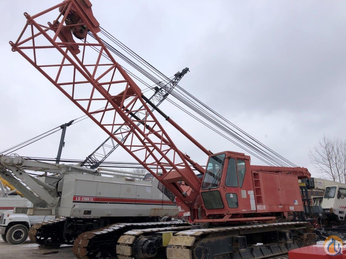 Manitowoc M85W Crane for Sale in Solon Ohio on CraneNetwork.com