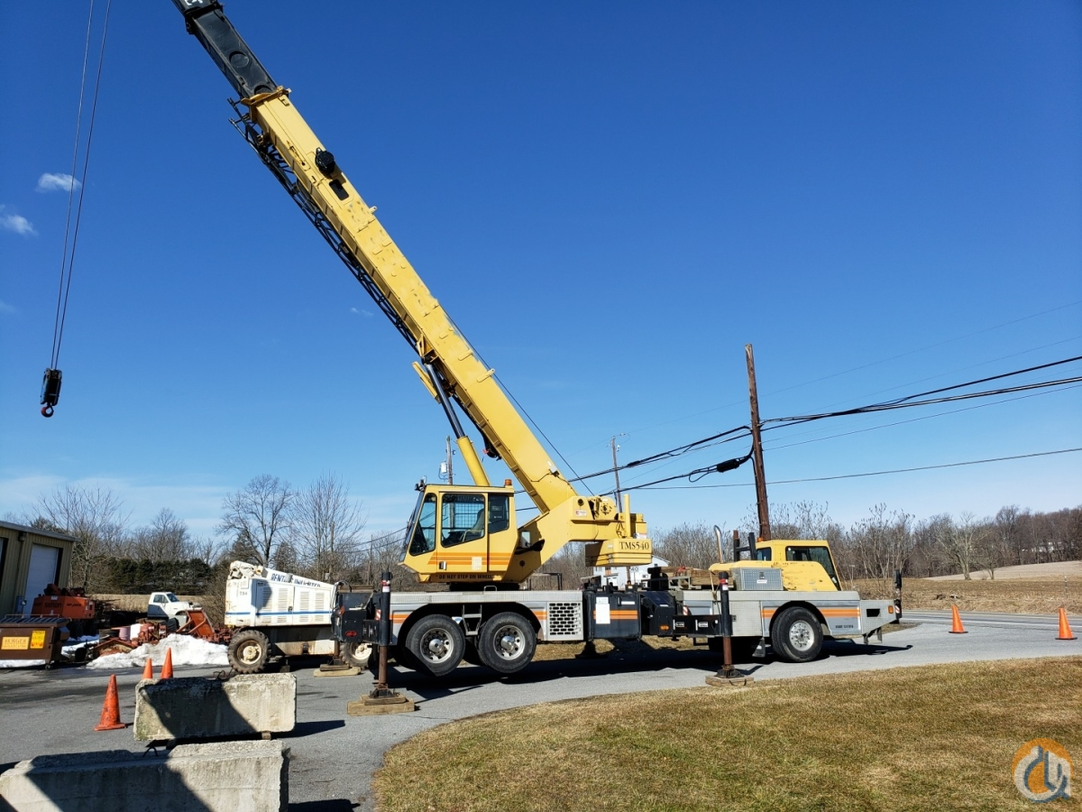 Grove 40-Ton Truck Crane Crane for Sale in Carlisle Pennsylvania on CraneNetwork.com