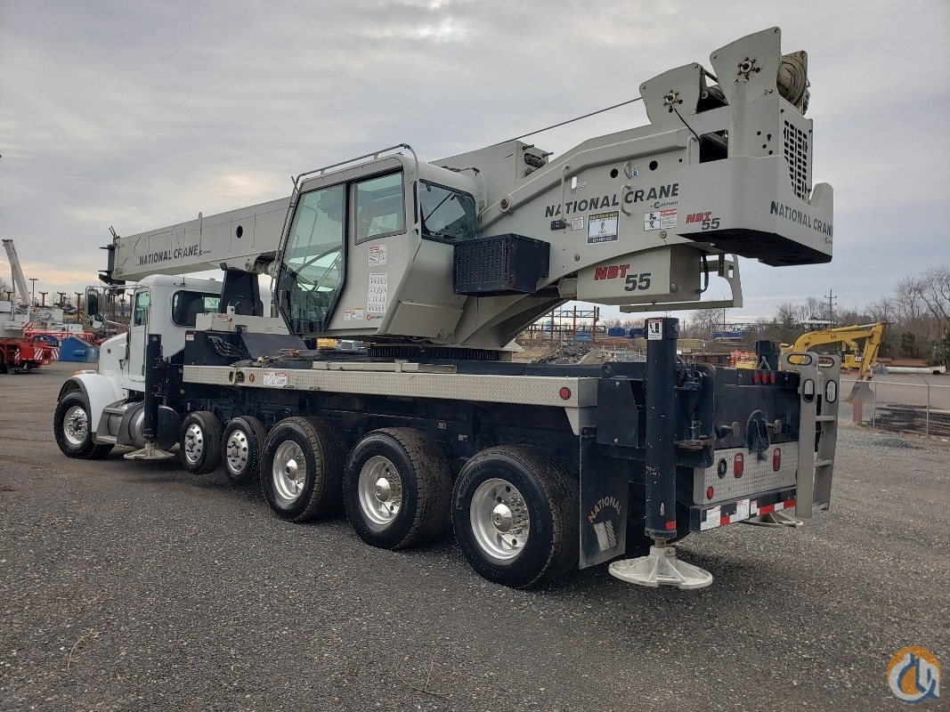 2011 National NBT55 Crane for Sale in Branchburg New Jersey on CraneNetwork.com