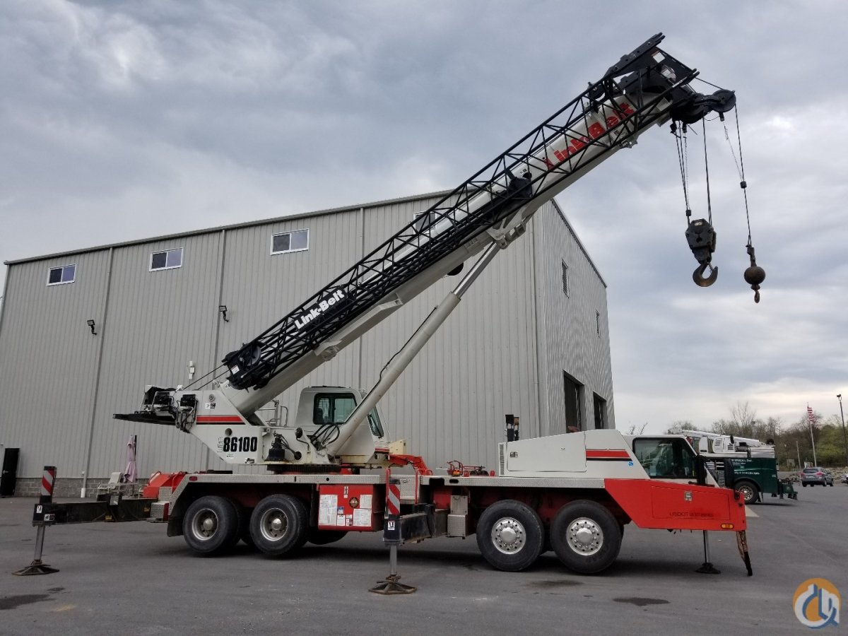 2014 Link-Belt HTC-86100 Crane for Sale in McDonald Pennsylvania on CraneNetwork.com