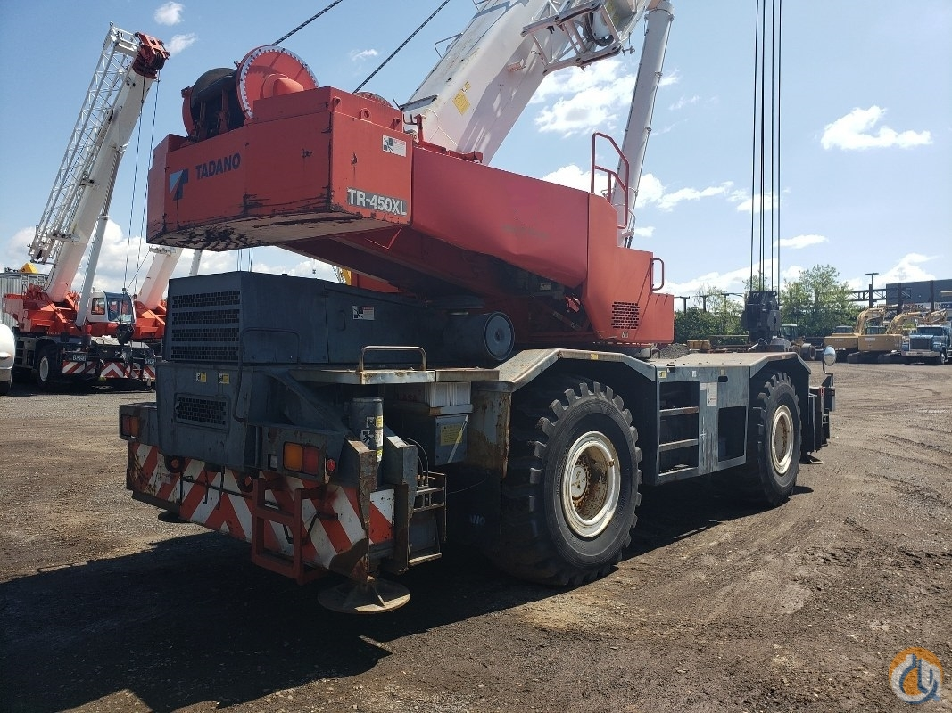 2001 Tadao GR450-1 Crane for Sale or Rent in Branchburg New Jersey on CraneNetwork.com
