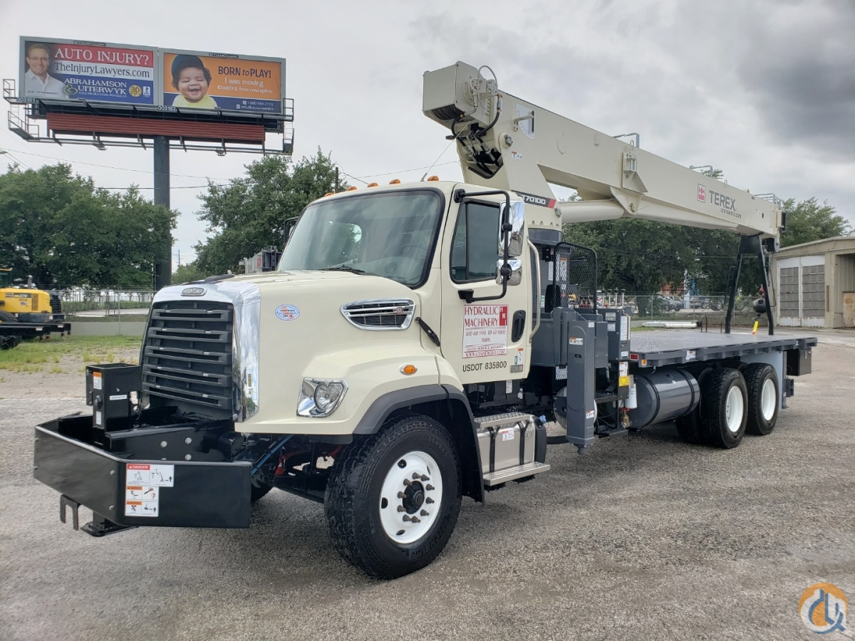 2019 Terex BT70100 on a 2018 Freightliner 108 SD Crane for Sale in Tampa Florida on CraneNetwork.com