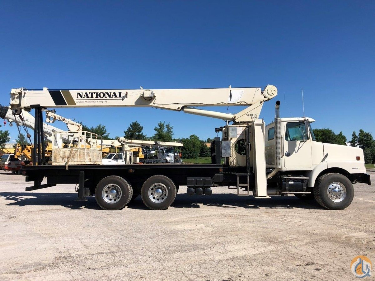 2001 National 1195 Crane for Sale in Solon Ohio on CraneNetwork.com