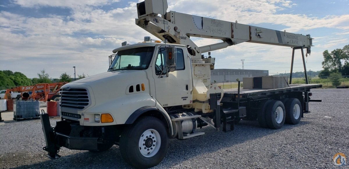 OUT  DOWN OUTRIGGERS - 30-Ton Behind Cab Mount Crane for Sale in Carlisle Pennsylvania on CraneNetwork.com