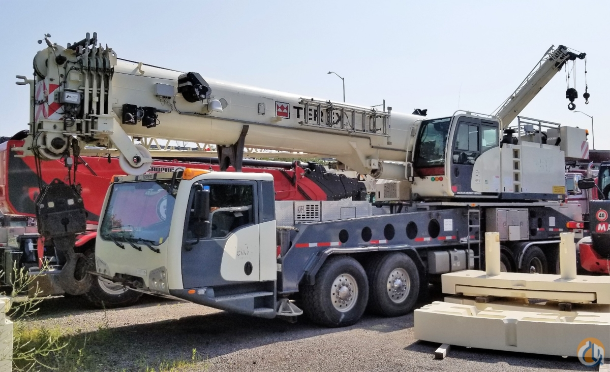 2012 TEREX ROAD MASTER 9000 Crane for Sale or Rent in Oakville Ontario on CraneNetwork.com