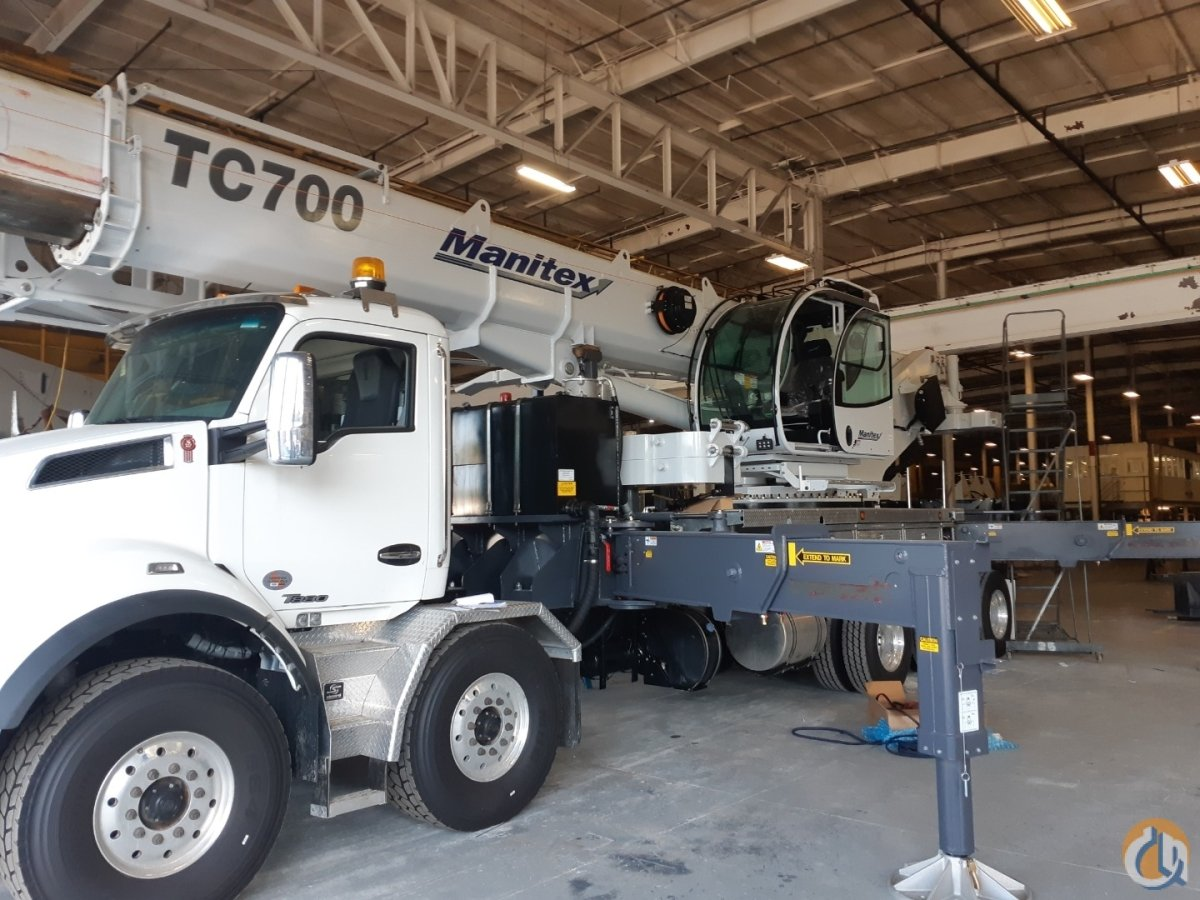 2019 MANITEX TC700 Crane for Sale or Rent in Oakville Ontario on CraneNetwork.com