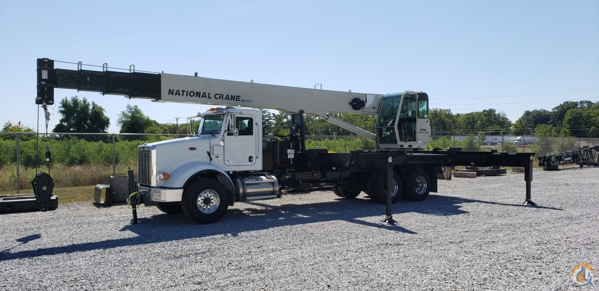 Just Arrived  2019 National 14127A on 2020 Peterbilt 365 Crane for Sale in Carlisle Pennsylvania on CraneNetwork.com