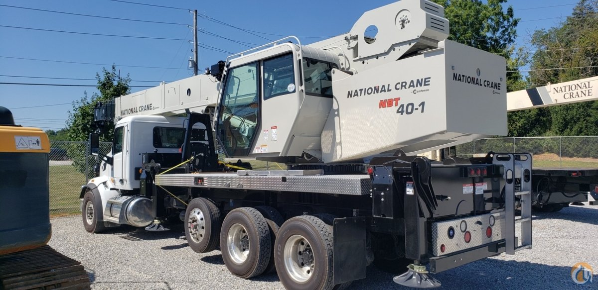 40-Top Capacity with 45-Ton Upgrade Capability Crane for Sale in Oxford Massachusetts on CraneNetwork.com