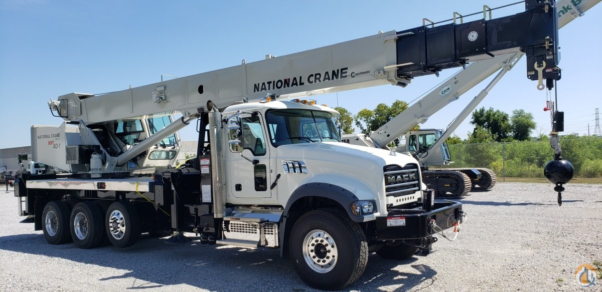 40-Ton Mack Crane for Sale in Carlisle Pennsylvania on CraneNetwork.com