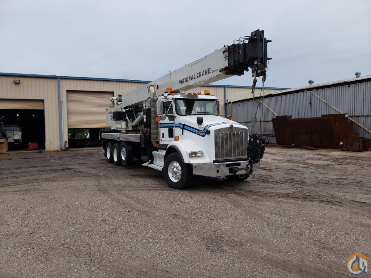 2014 National NBT40 on Kenworth T800 Crane for Sale in Tampa Florida on CraneNetwork.com