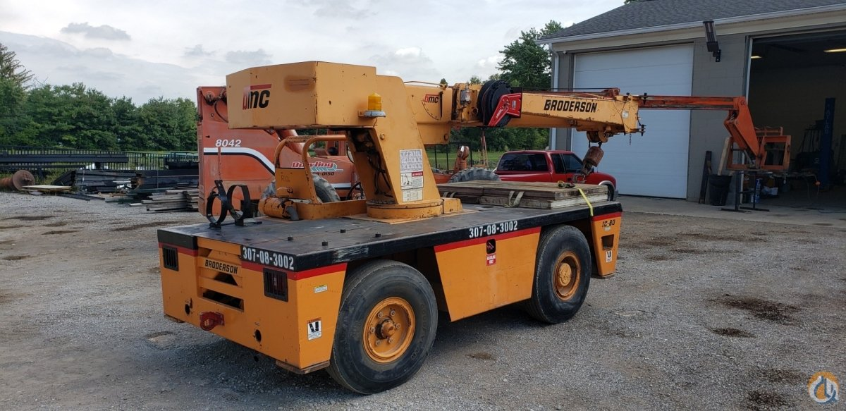 1998 Broderson IC80 3E Crane for Sale in Indianapolis Indiana on CraneNetwork.com
