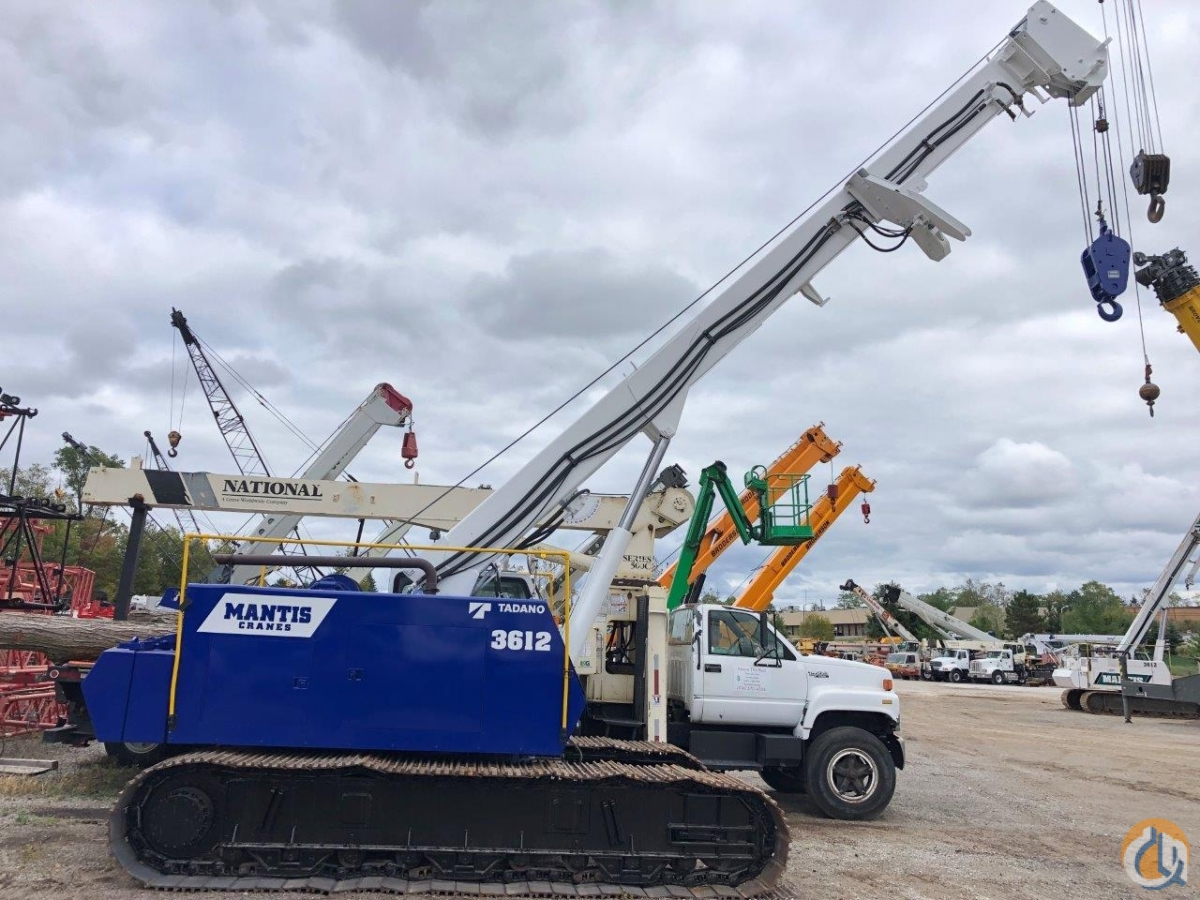 Mantis 3612 Telescopic Crawler Crane Crane for Sale in Solon Ohio on CraneNetwork.com
