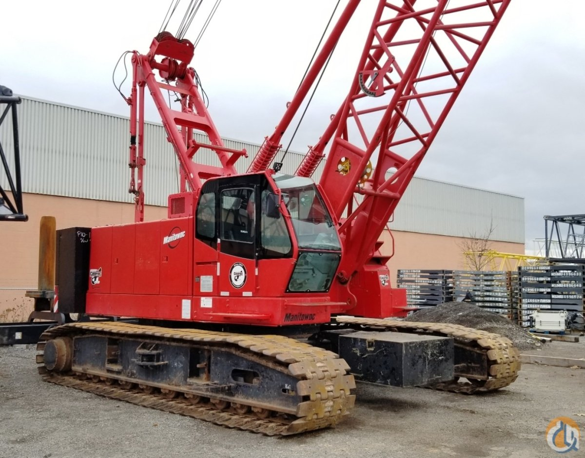 2007 MANITOWOC 8500 Crane for Sale or Rent in Oakville Ontario on CraneNetwork.com