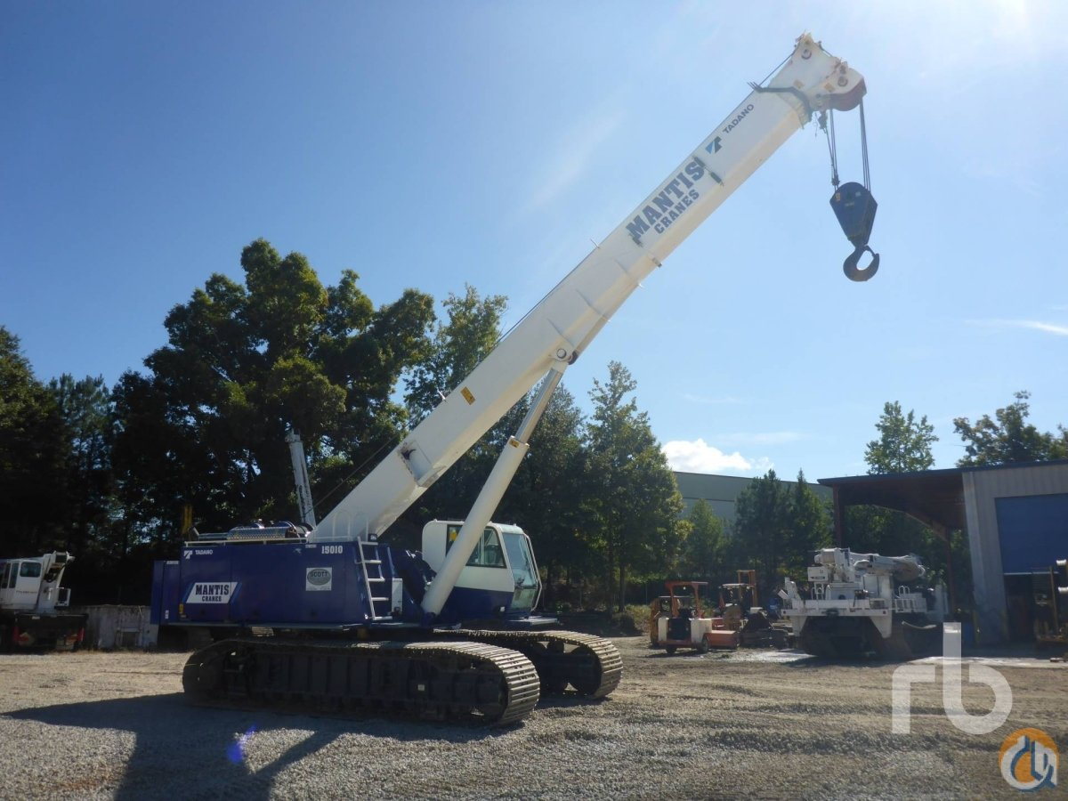 Sold 2010 MANTIS 15010 77 Ton Crawler Crane Crane for  in Atlanta Georgia on CraneNetworkcom