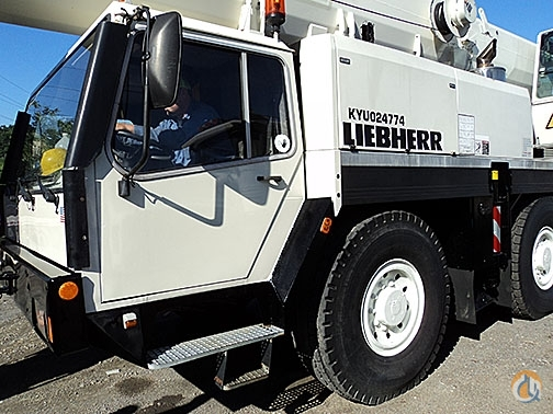 2052 - Liebherr LTM11201 Crane for Sale in West Mifflin Pennsylvania on CraneNetwork.com
