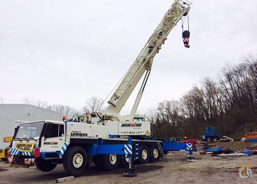 2052 - Liebherr LTM11201 Crane for Sale in West Mifflin Pennsylvania on CraneNetworkcom