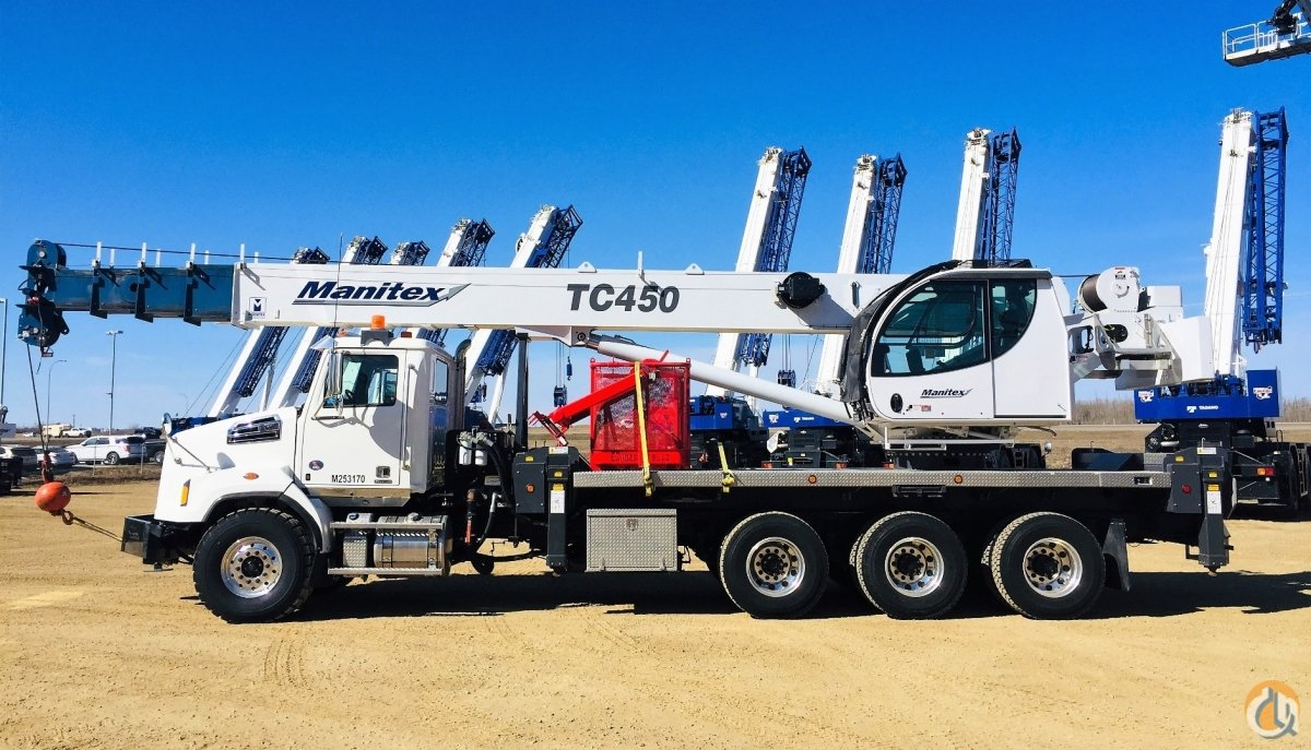 2017 MANITEX TC45127 Crane for Sale or Rent in Abbotsford British Columbia on CraneNetwork.com