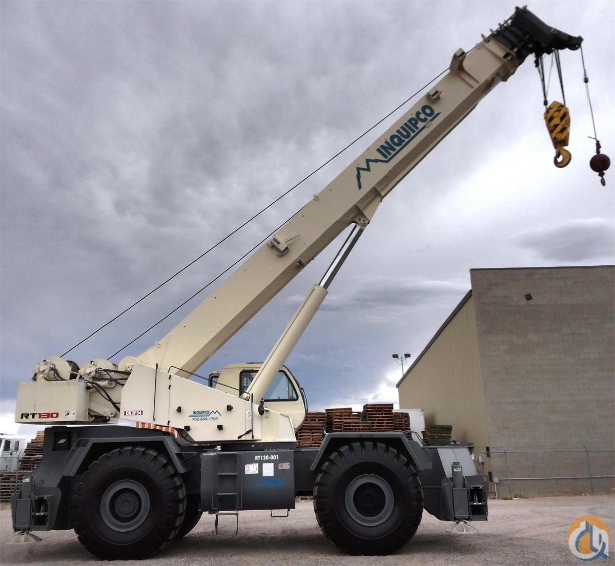 2011 TEREX RT130 Crane for Sale or Rent in Las Vegas Nevada on CraneNetwork.com