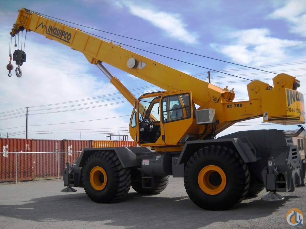 2007 Terex RT780 Crane Crane for Sale or Rent in Las Vegas Nevada on CraneNetwork.com