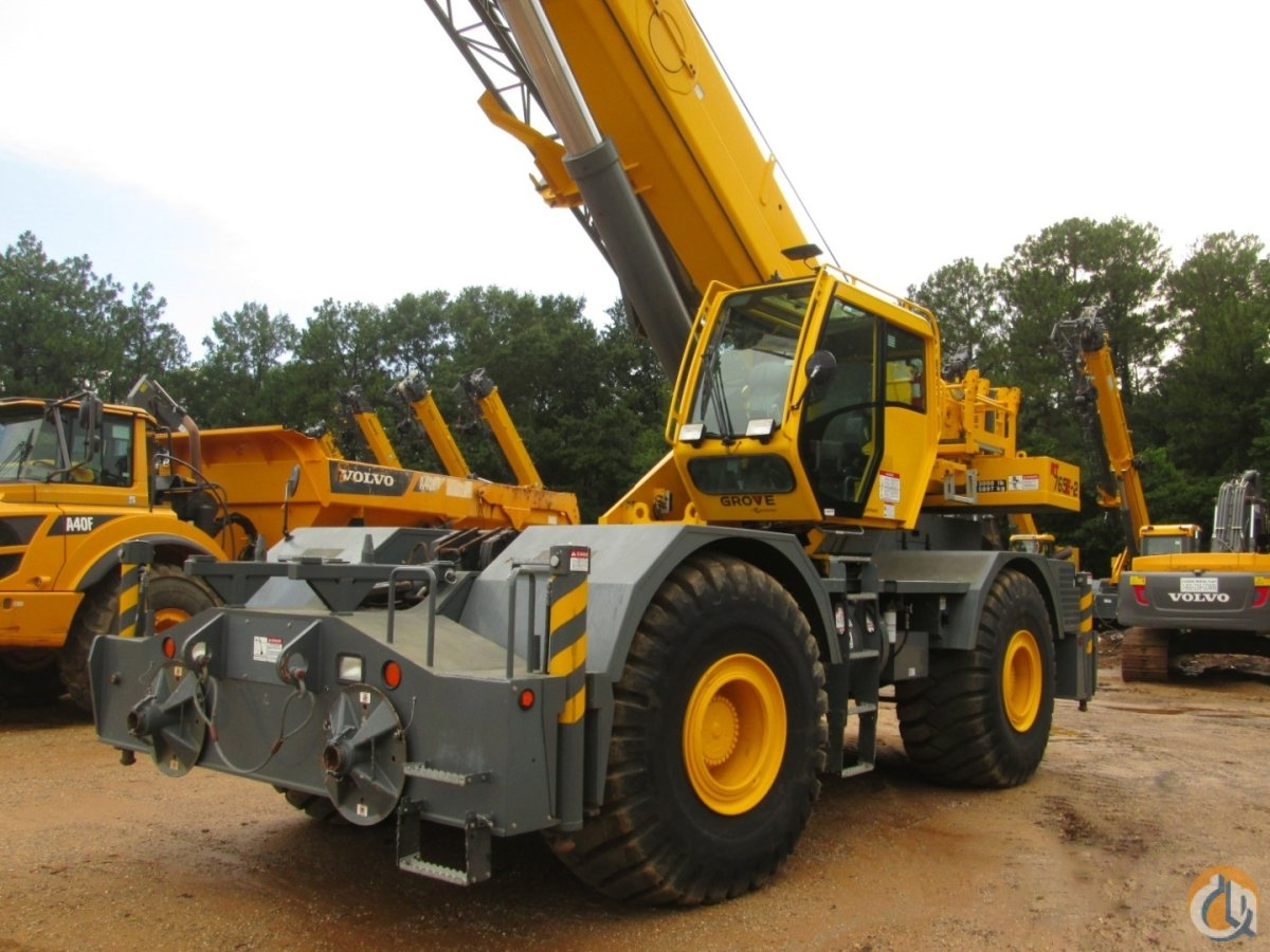 2012 GROVE RT-765E-2 Crane for Sale or Rent in Savannah Georgia on CraneNetworkcom