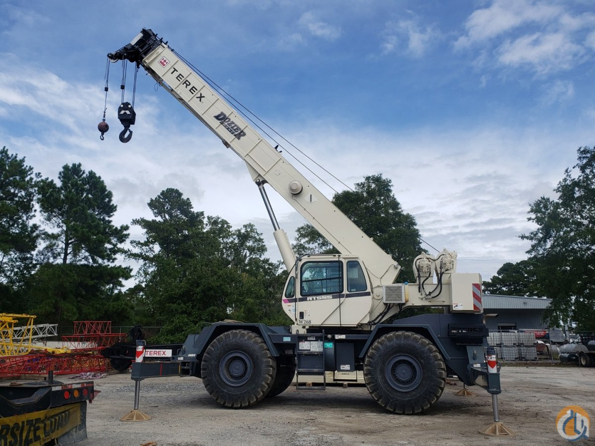 2016 TEREX RT-555 Crane for Sale or Rent in Savannah Georgia on CraneNetwork.com