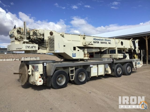 Sold 1999 Grove TMS870 Hydraulic Truck Crane Crane for  in Big Piney Wyoming on CraneNetwork.com
