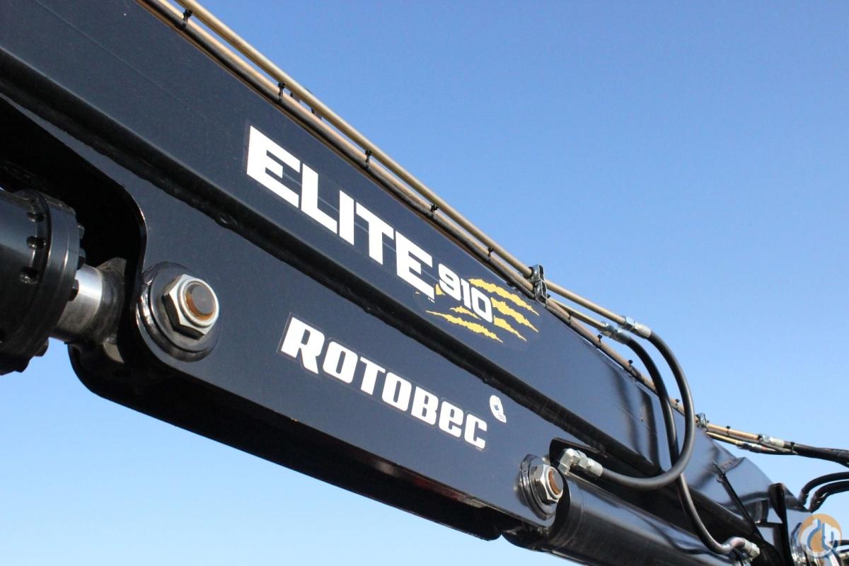 Sold New Rotobec Elite 910 MT26 loader (unmounted) Crane for
