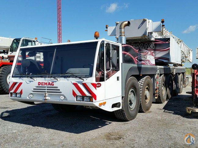 2002 Demag AC180 Crane for Sale in Montreal Qubec on CraneNetwork.com